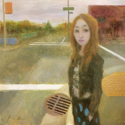 Look Right Through Me No.22016oil on pannel20.0 x 20.0cm©Rentian Qiu
